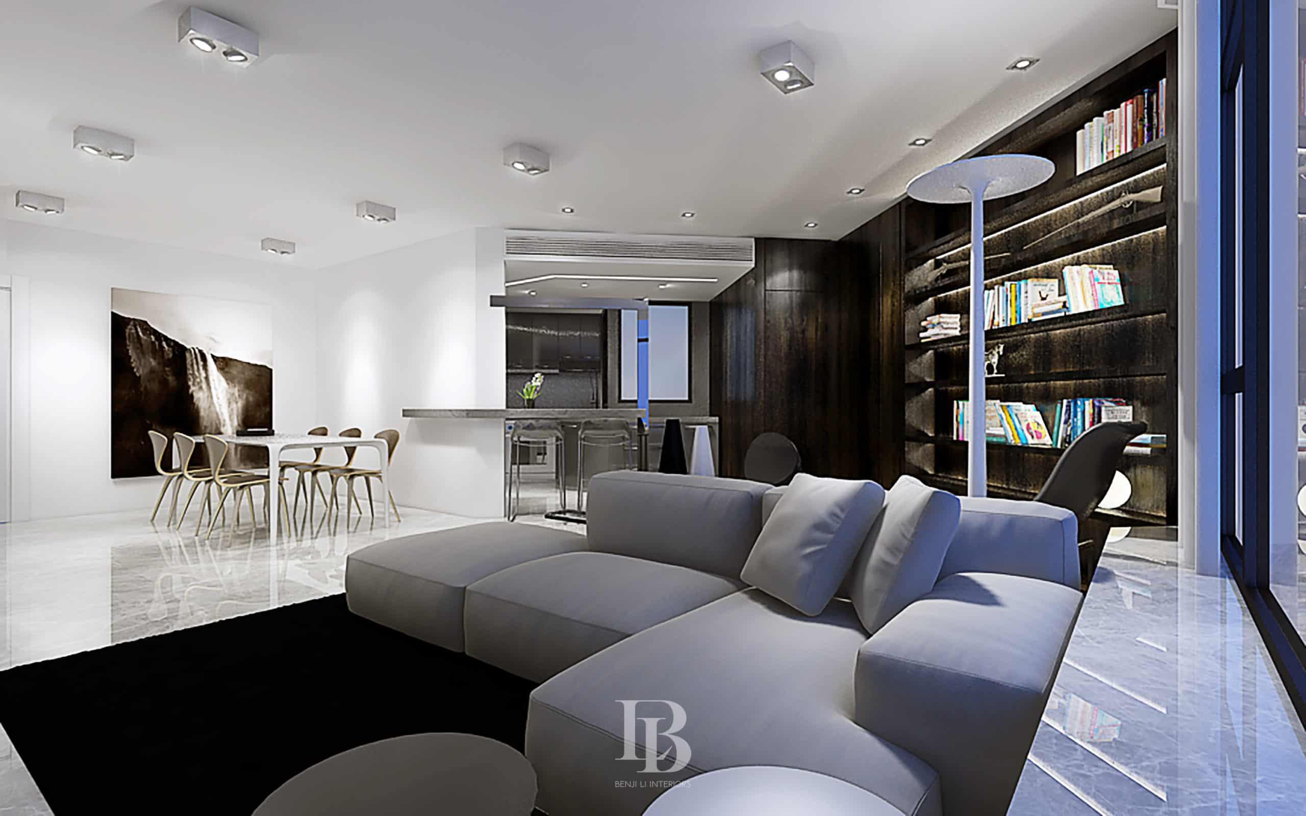 Benji Li Robinson Place Living Dining 09