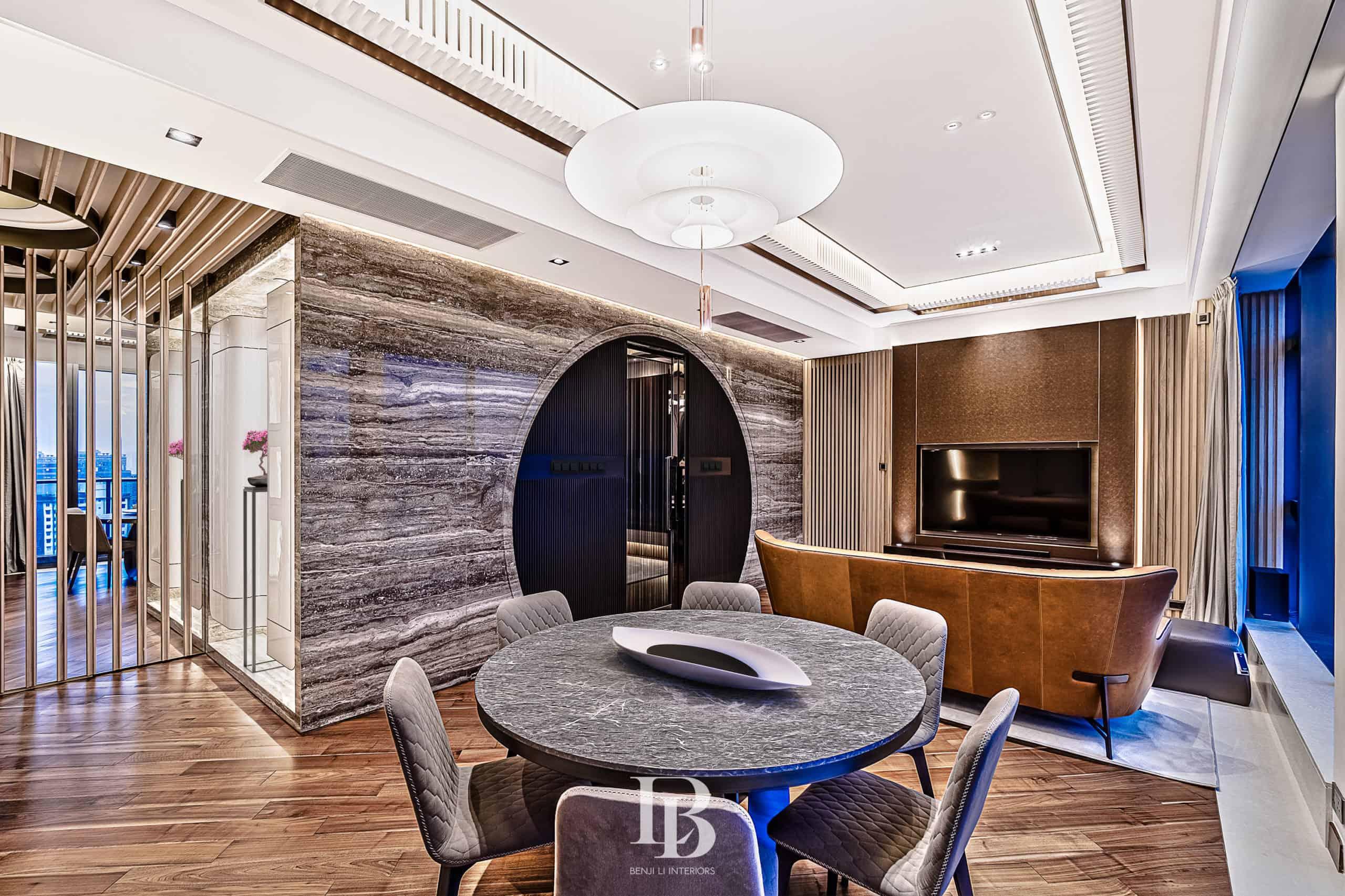 Benji Li Ultima oriZENtal Living & Dining Area