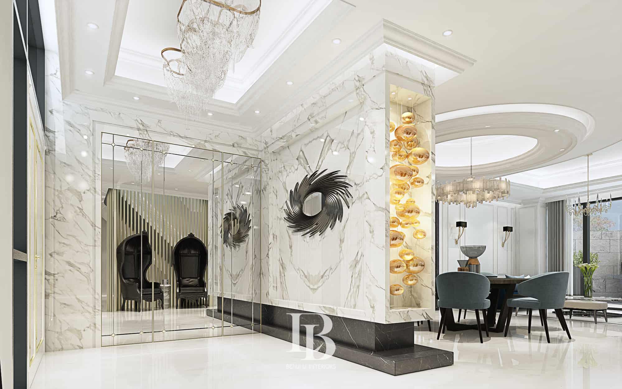 Benji Li Shouson Hill Bay Villas Living Area & Dining Area 00